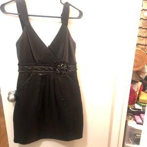Black BCBG Maxazria cocktail dress